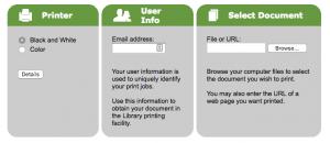 Image of PrinterOn website
